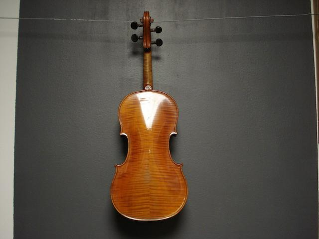 A Violin of the Breton School circa 1900 (1)