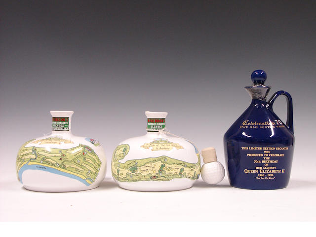 McGibbons Golf Decanter (2)Celebration 70