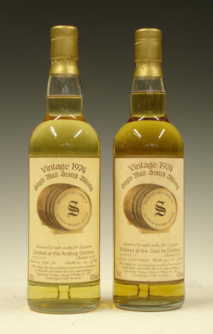 Ardbeg-19 year old-1974Caol Ila-17 year old-1974