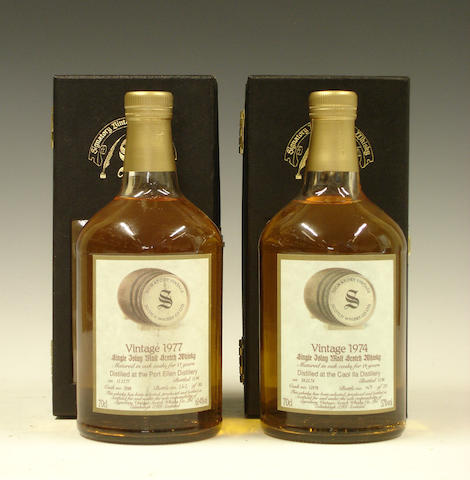 Port Ellen-17 year old-1977Caol Ila-19 year old-1974