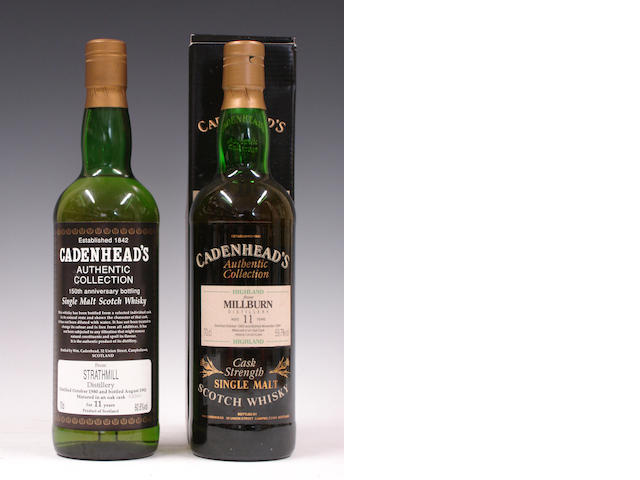 Strathmill-11 year old-1980Millburn-11 year old-1983