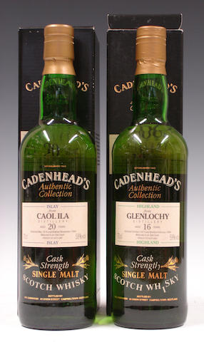 Caol Ila-20 year old-1974Glenlochy-16 year old-1977