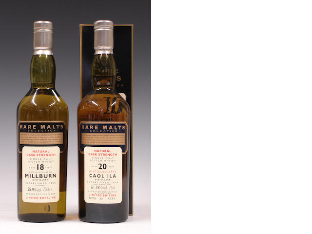 Millburn-18 year old-1975Caol Ila-20 year old-1975