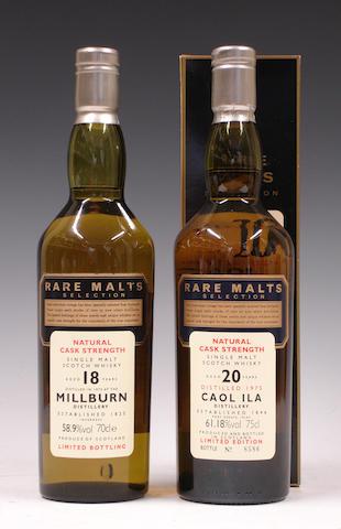 Millburn-18 year old-1975Caol Ila-20 year old-1975