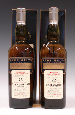 Glendullan-23 year old-1972  Dailuaine-22 year old-1973