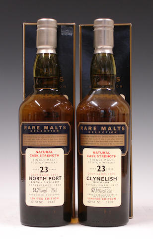 Clynelish-23 year old-1972North Port-23 year old-1971