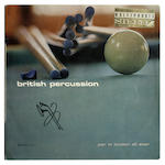 A copy of the album 'British Percussion' by The London All Stars' autographed by Jimmy Page, 1960s,