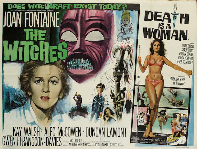 A large collection of film posters, the majority being U.K Quads, titles including: quantity