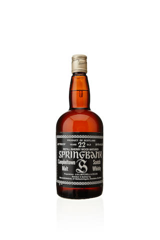 Springbank-22 year old