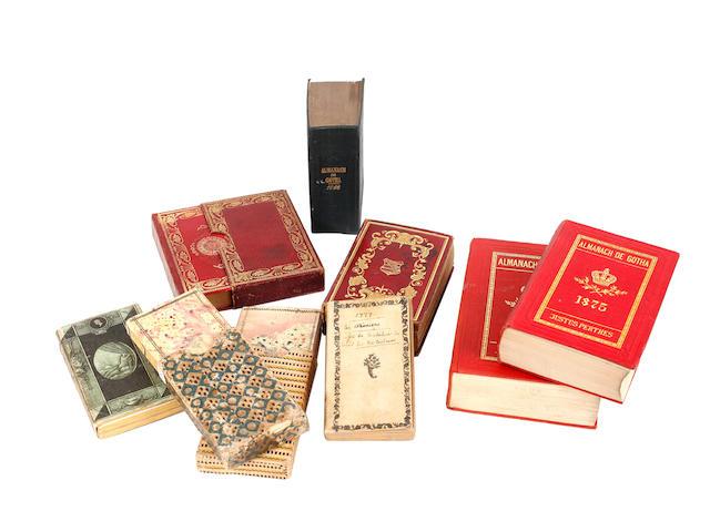 ALMANACH DE GOTHA Complete run 1777 to 1944, 171 vol.