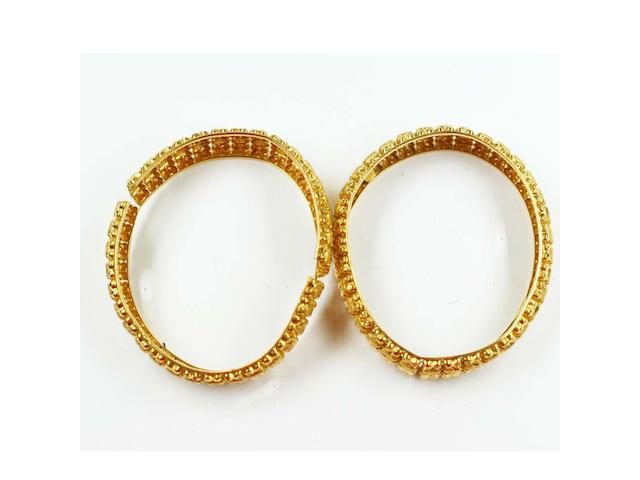 A pair of bangles