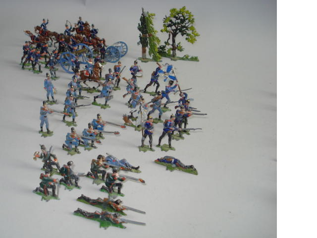 affner semi-flat 40mm scale Franco-Prussian War: The Battle of Sedan 300