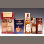 Mixed whiskies comprising (13)