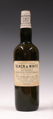 Black & White-Circa 1950