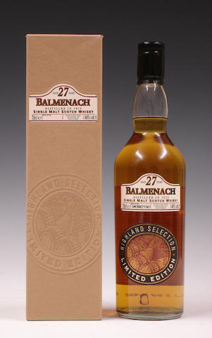 Balmenach-27 year old-1973