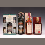 Longmorn-15 year oldGlenfiddichRobert Burns Immortal MemoryIsle of Skye-18 year old