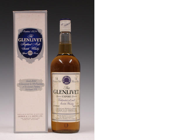 The Glenlivet Special Export Reserve-34 year old