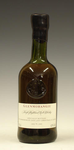 Glenmorangie Last Christmas At Leith-1995