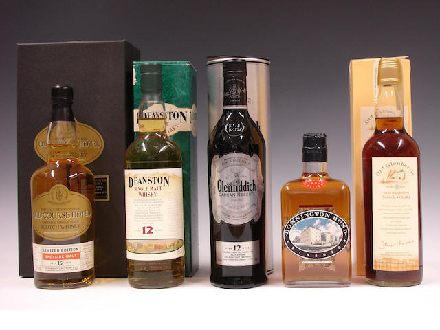 Mixed Whiskies comprising: