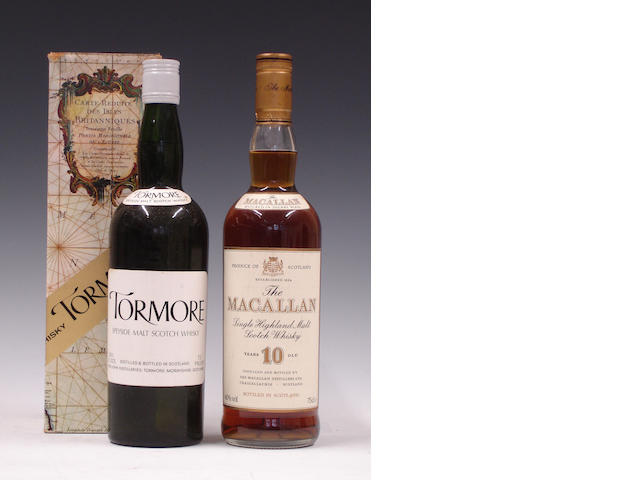 TormoreThe Macallan-10 year old