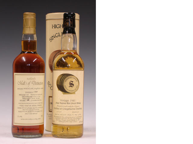 Macallan-1989Craigellachie-16 year old-1981