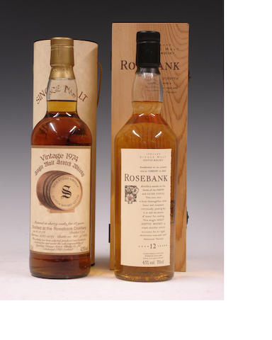 Rosebank-18 year old-1974Rosebank-12 year old
