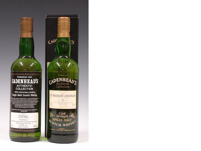Strathmill-11 year old-1980St. Magdalene-11 year old-1982