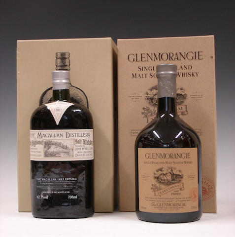 Macallan Replica-1861  Glenmorangie Traditional