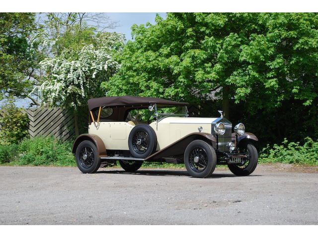 1932 Rolls-Royce 20/25hp Tourer  Chassis no. GRW64 Engine no. W3P