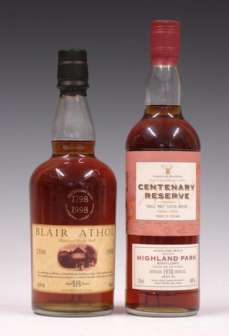 Blair Athol Bicentenary-18 year oldHighland Park Centenary Reserve-1970