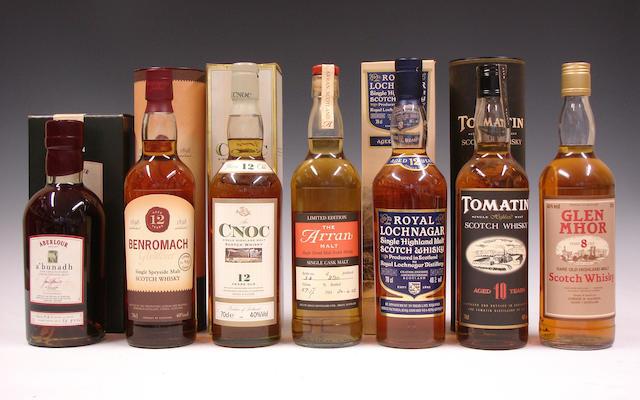 Single malts comprising (6):