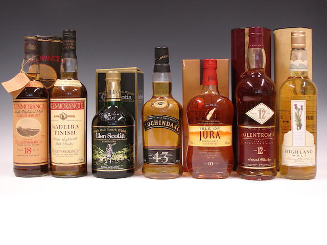 Single malts comprising (7):