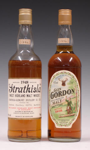 Strathisla-1948  Glen Gordon-1958