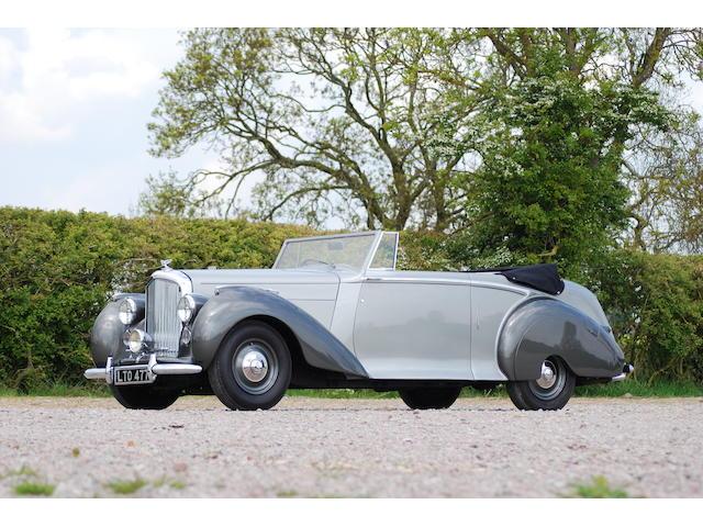 1949 Bentley MkVI 4¼-Litre Drophead Coupé, Chassis no. B470DA