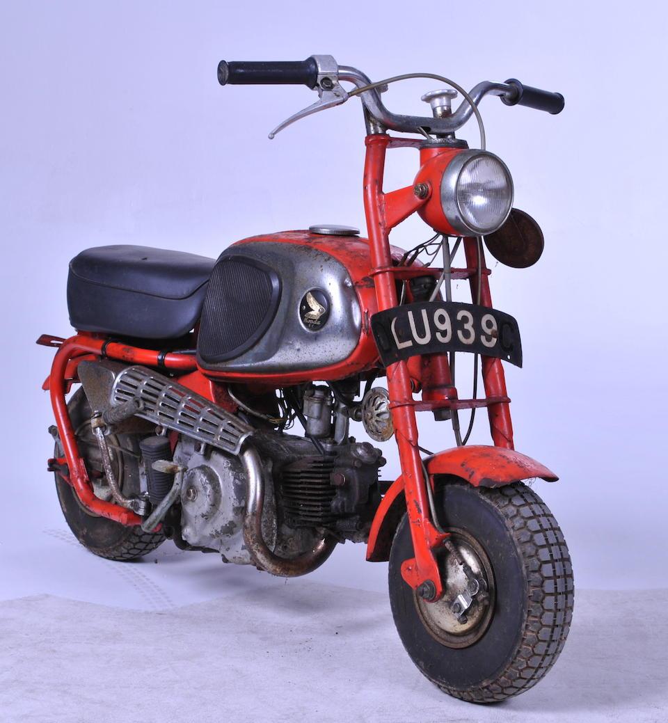 1965 Honda 49cc CZ100 'Monkey Bike' Frame no. S90977 Engine no. C100E-C4490
