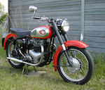 1960 BSA 646cc A10 Frame no. GA7 6230 Engine no. DA10 9794