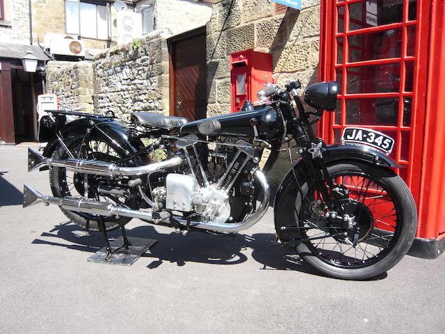 1929 Brough Superior,