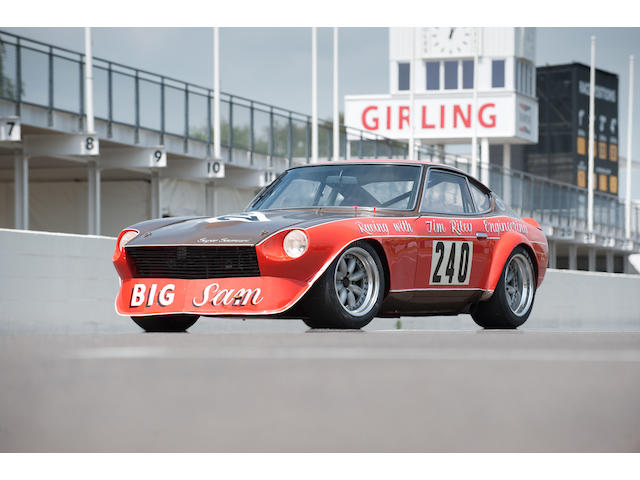 'Big Sam' – the Samuri Racing,1972 Datsun 240Z Sports Racing Coupe  Chassis no. HLS 30 94014 Engine no. 645936
