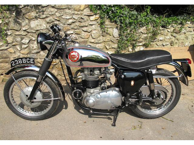 1962 BSA 646cc Rocket Gold Star Frame no. GA10 129 Engine no. DA10R 6991