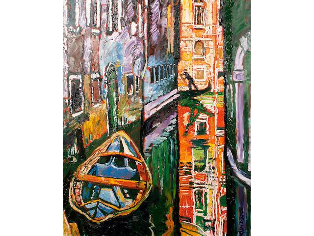 John Bratby R.A. (British, 1928-1992) Venice