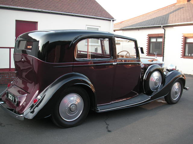 Formerly the property of Jack Barclay Esq,1936 Rolls-Royce 25/30hp Sedanca de Ville  Chassis no. GTL76 Engine no. G24V