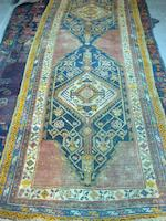 A Karabagh runner South West Caucasus, 343cm x 154cm and three others (4)