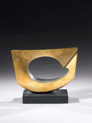 Denis Mitchell (British, 1912-1993) Annet 23.5 cm. (9 1/4 in.) wide