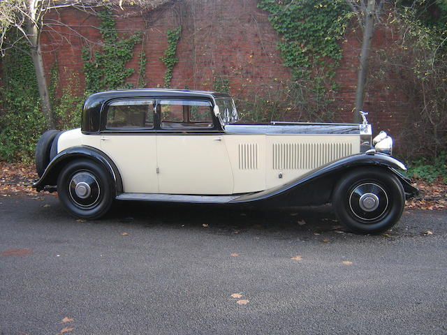 1932 Rolls-Royce 40/50hp Phantom II Continental Saloon  Chassis no. 33JS Engine no. IC75