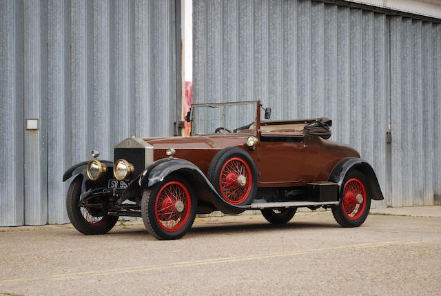 Formerly the property of David Scott-Moncrieff,1924 Rolls-Royce 45/50hp Silver Ghost Drophead Coupé with Dickey seat  Chassis no. 16RM Engine no. S217
