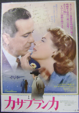 Casablanca,  Warner Bros., 1942 (re-release 1974),