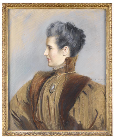 Paul César Helleu (French, 1859-1927) Portrait de femme