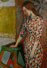 Zdzislaw Ruszkowski (Polish, 1907-1991) The spotted dress