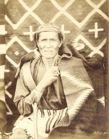 "AMERICAN SOUTHWEST HILLERS (JOHN KARL) ""The Ancient Navajo"""