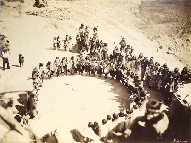 "AMERICAN SOUTHWEST HILLERS (JOHN KARL) The ""Women's Dance"". Oraibi"